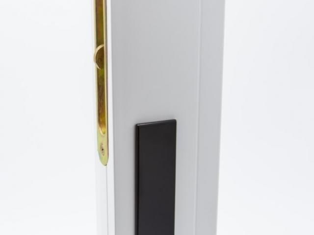 3750 MS White Sash with Black Hardware