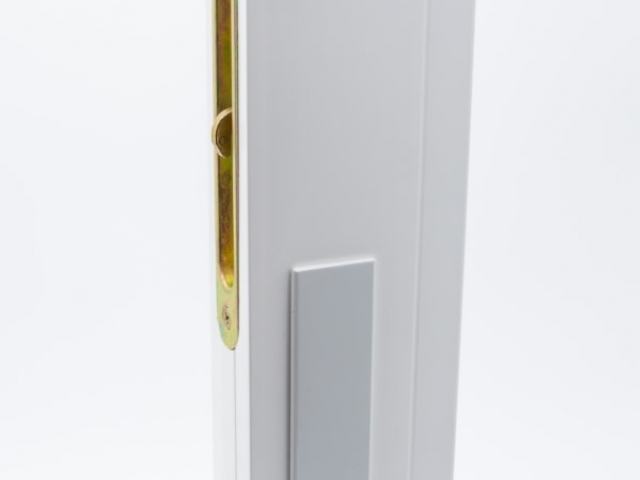 3750 MS White Sash with White Keyed Hardware