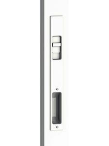 3750 Sliding Door Flush Handle White