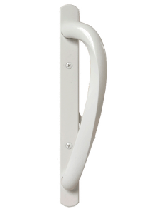 White Sliding Door Signature Handle