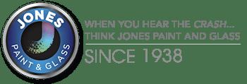 jones paint and glass logo
